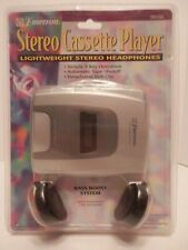 Emerson Personal Stereo Cassette Player EW79B-NEW/SEALED-Free Shipping