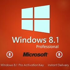Windows 8.1 Professional 32 / 64-bit Lizenzschlüssel Win 8.1 Pro Key SOFORT