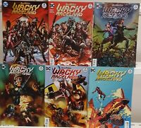 Wacky Raceland 1 2 3 4 5 6 Hanna-Barbera Complete Set Series Run Lot 1-6 VF/NM