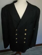 More details for royal navy class ib mens officer jacket chest 112cm genuine royal navy issue