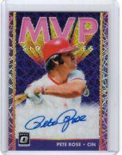 Pete Rose 2019 Donruss Optic Pink Velocity MVP Signatures Auto Autograph Reds