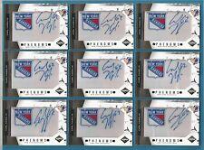 "2011-12 Limited Hockey "" Phenoms"" Carl Hagelin Rookie Autograph Card #249"