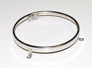 1969 Ford Mustang Comet Cougar - Headlight/Headlamp Retaining Ring (Stainless)