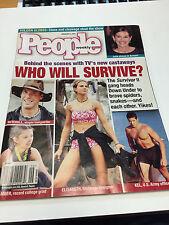 People Weekly Magazine Febuary 5, 2001 Survivor 2