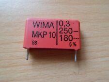 WIMA MKP10 Impulskondensatoren 0,3µF 250V-/180V~ RM22,5 *Neu* *1 Stück*