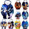 Sonic The Hedgehog Kids 3D Printed Hoodies Hooded Sweatshirt Jumper Pullover Top