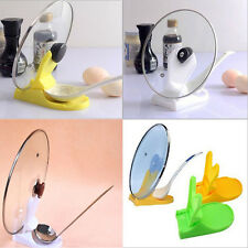 Spoon Pot Lid Shelf Cooking Storage Kitchen Decor Stand Holder Convenient Tool