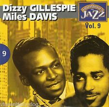 Dizzy Gillespie & Miles Davis - Les Triomphes Du Jazz vol. 9 (French CD)