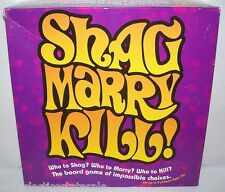 Imagin Ent ©2003 SHAG MARRY KILL! Adult Party Game COMPLETE