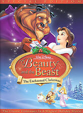 Beauty and the Beast: An Enchanted Christmas (DVD, 2002, Special Edition)436