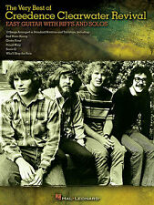 Very Best Of Creedence Clearwater Revival Easy Guitar TAB Music Book
