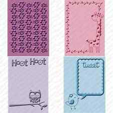 Cuttlebug 4 Embossing Folders Create A Critter Bundle   2000414   444713