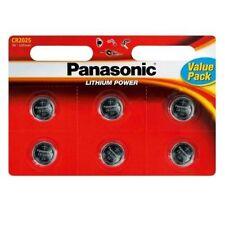 Piles boutons Panasonic pour équipement audio et vidéo
