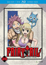 Fairy Tail: Part 20 (Blu-ray/DVD, 2016, 4-Disc Set)