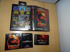 Mortal Kombat Sega Mega Drive game Complete