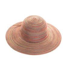 Mujer plegable ancho borde Floppy Sol Verano Playa Sombrero 2 COLORES