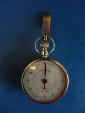 Vtg. Made In Germany Sport Pedometer-Distance Meter- Miles,1 Division=1/4 Mile