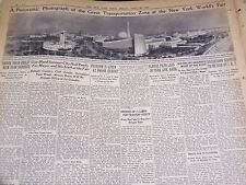 1939 APRIL 28 NEW YORK TIMES - FAIR NEARLY READY FOR OPENING - NT 3043