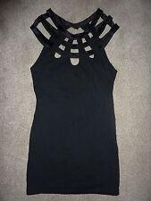 New NWT Motel Nina black stretchy, sleeveless short dress. Size S, 10. £48 new