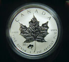 2016 Canada $5 1oz ANA Anaheim Poppy Privy Mark Silver Maple Leaf Coin Bullion