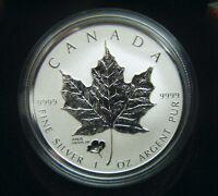 2016 Canada $5 1oz ANA Anaheim Poppy Privy Mark Silver Maple Leaf Coin Bullion