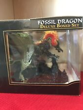 McFarlane's Fossil Dragon Fall Of The Dragon Kingdom Deluxe Boxed Set
