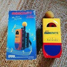 Vintage Systema musicmate-Mi primer Karaoke Reproductor De Cassette-Talkboy