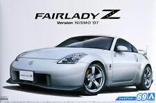 2007 Nissan Z33 Fairlady Z Version Nismo 1:24 Model Kit Bausatz Aoshima 055229