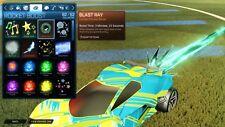 Rocket Liga PS4-Blast Ray RLCS Ventilador recompensa Limitada Boost