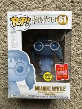 FUNKO POP HARRY POTTER MOANING MYRTLE  SDCC 2018 SHARED CONVENTION EXCLUSIVE
