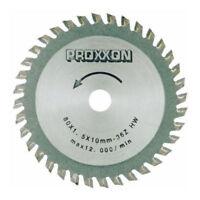 Tct Hoja para Proxxon Fet Sierra de MESA 702068 28732