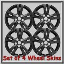 "Black Chevy Equinox Wheel Skins Hubcaps 17"" Chevrolet Wheel Covers 2013-2014"