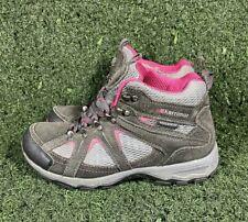 Karrimor Mid Ladies V Weathertite Walking Hiking Boots Shoes UK 5 Black & Pink