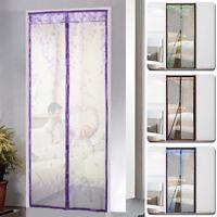 Window Screen Mesh Net Insect Fly Bug Anti-Mosquito Moth Door Netting 100x210cm