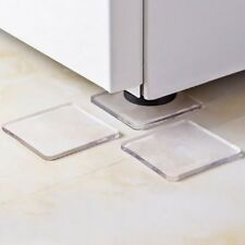 4Pcs Non-slip Clear Mat Washing Machine Refrigerator Anti-vibration Shock Pad