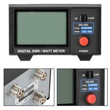 """3.5"""" Digital SWR WATT Meter for Two-Way Radios Walkie Talkie 1.6-60/125-525MHz"""