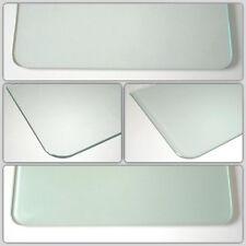8 mm ROYAL15 Glasboden runde Ecken, 3 Längen,2 Tiefen, Klarglas+satiniertes Glas