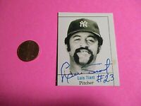 Luis Tiant New York Yankees Signed AUTOGRAPH AUTO Photograph