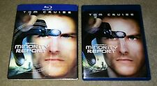 Minority Report (2-Disc Bluray) with Rare Lenticular Slipcover (see pictures)