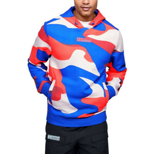 Under Armour Mens Summit Hoodie UA Graphic Sports Training Fleece Hooded Top