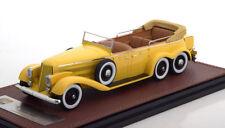 HISPANO SUIZA H6A VICTORIA TOWN CAR 1923 YELLOW GLM 43215002 1/43 RESINE GELB