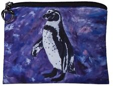 Penguin Change Purse, Coin Purse - From my Original Oil Painting