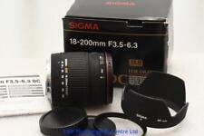 Canon EOS EF fit 18-200mm Sigma DC AF Zoom Lens DSLR EF-s GOOD CONDITION