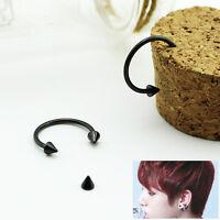 Kpop JUNGKOOK JUNG KOOK Stainless Steel Earrings kpop new FR714