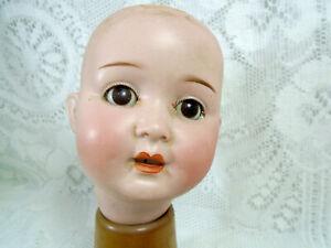 "Antique bisque doll head, 914 P.M., 5.2"", Porzellanfabrik Mengersgereuth"