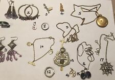 Nice interesting lot of old & Antique jewellery. Silver Etc