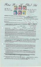 RHODESIA - 1971 Revenue Document (includes $10 & $20 Arms Revenues) (ME594)*