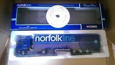Corgi 76402 Scania Curtainside Norfolk Line Ltd Edition No. 0002 of ONLY 1630