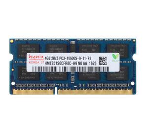 Hynix 4 Go 2RX8 DDR3 1333 MHz PC3-10600S 204PIN SODIMM mémoire portable RAM 1.5V