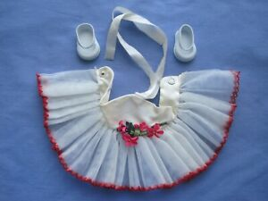 1950s Sayco Doll Corp Miss America Pageant Doll Tulle Tu-Tu & Shoes/ESTATE SALE